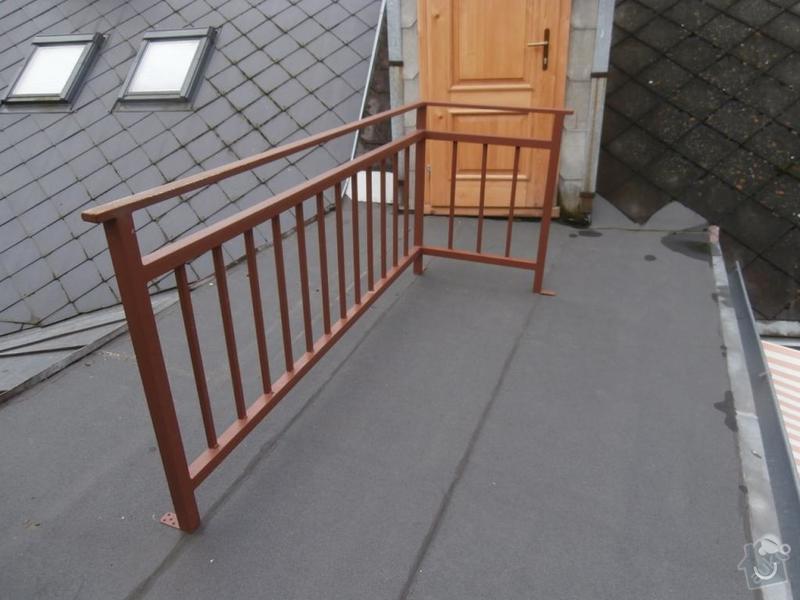Dřevěná terasa - připojení ke stávajícímu balkonu: 4918095755
