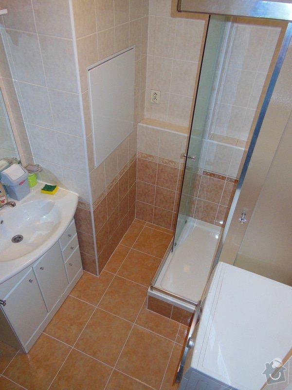 Výměna vany za sprchový kout: DSCN2038