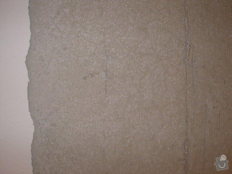 Omítnutí stropu: P1011362