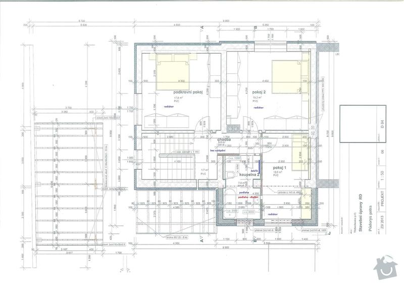 Tepelné čerpadlo, vytápění rod. domu - návrh a vlastní realizaci: vytapeni-obr01