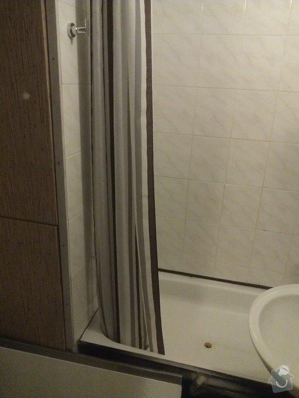 Výměna vany za sprchový kout, instalatérské práce, obklady: WP_002887