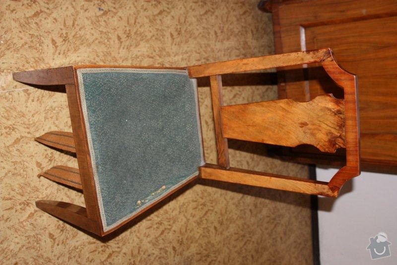 Přečalounění židlí : IMG_7646