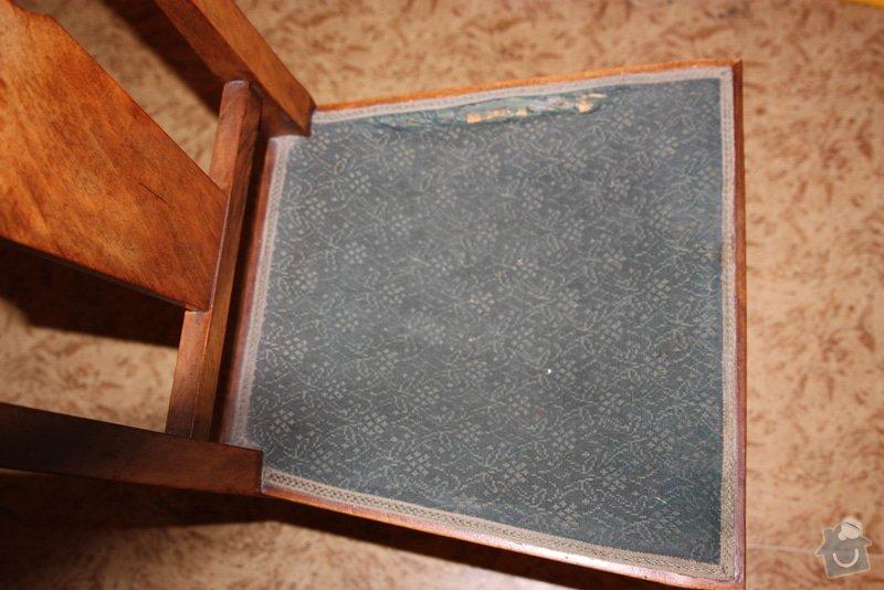 Přečalounění židlí : IMG_7647
