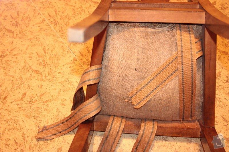 Přečalounění židlí : IMG_7649