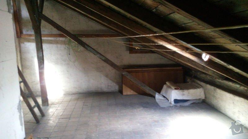 Stavba nového vikýře v půdní vestavbě v 3. podlaží: IMG_20140703_115019