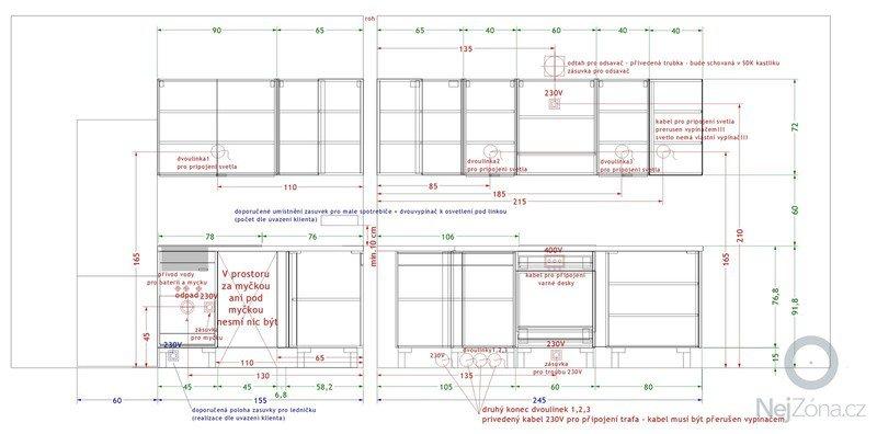 Příprava instalace kuchyňské linky - elektrorozvody: Trojan_Pavel_-_instalace_7.1.2015