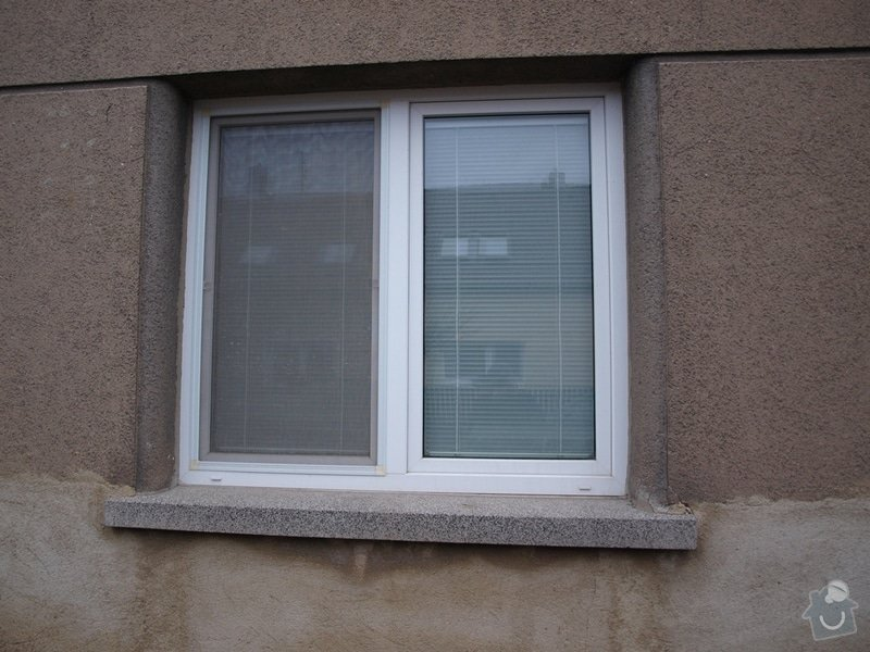 Výměna oken v RD v rekonstrukci: 01a