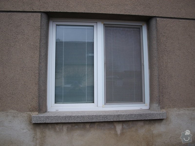 Výměna oken v RD v rekonstrukci: 02a