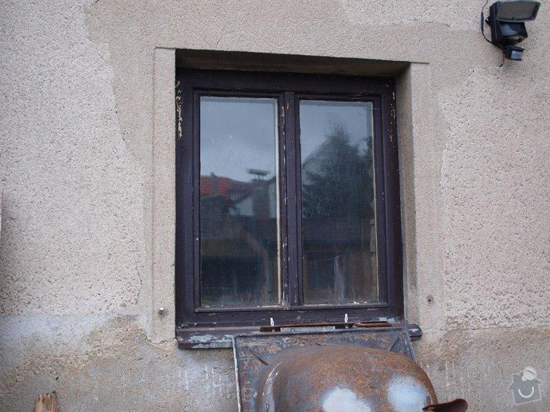 Výměna oken v RD v rekonstrukci: 03a