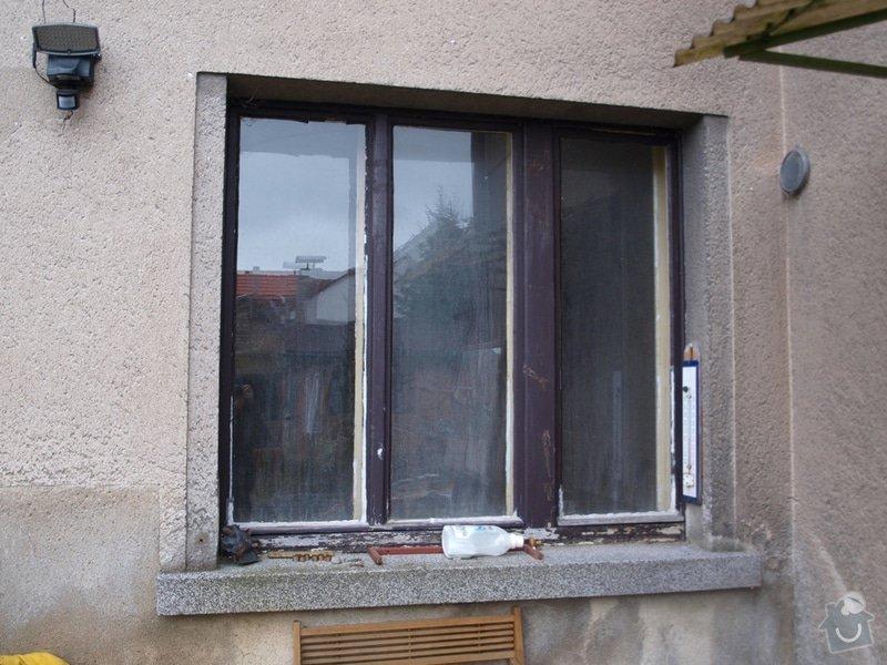 Výměna oken v RD v rekonstrukci: 04a