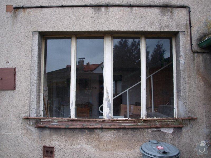 Výměna oken v RD v rekonstrukci: 05a