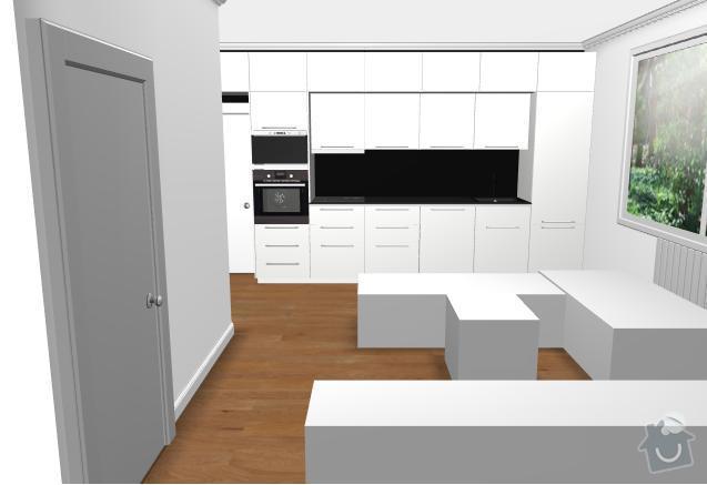 Montáž kuchyně Ikea + rozvod elektro- zásuvek : kuchyn