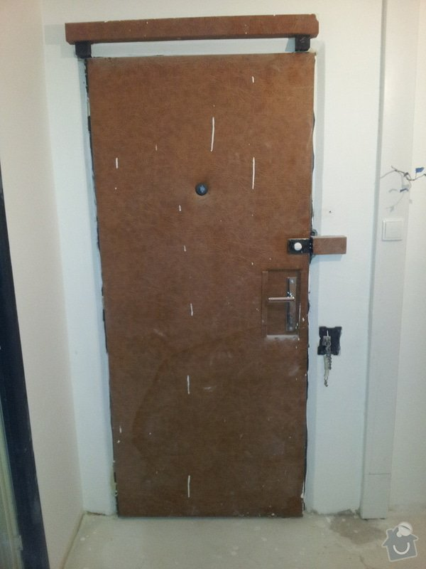 Rekonstrukce bytu: 02_Vstupni_dvere