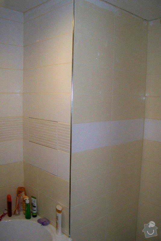 Osazení sprchových dveří: 100_9406