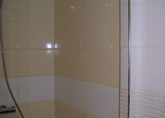 Osazení sprchových dveří