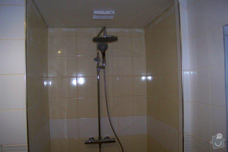 Osazení sprchových dveří: 100_9408