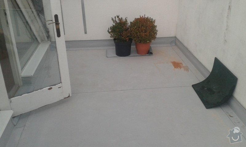 Izolace terasy, cca 40 m2: 20141220_144328