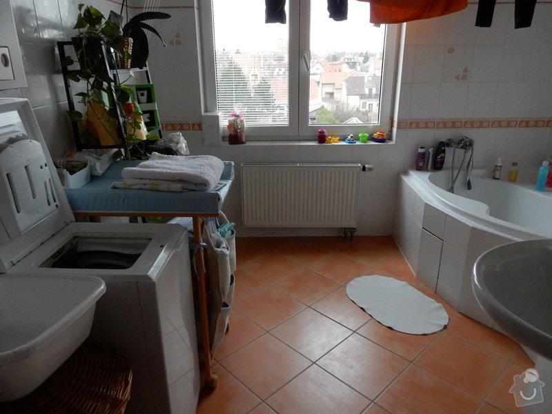 Oprava plesnivych spar v koupelne: koupelna