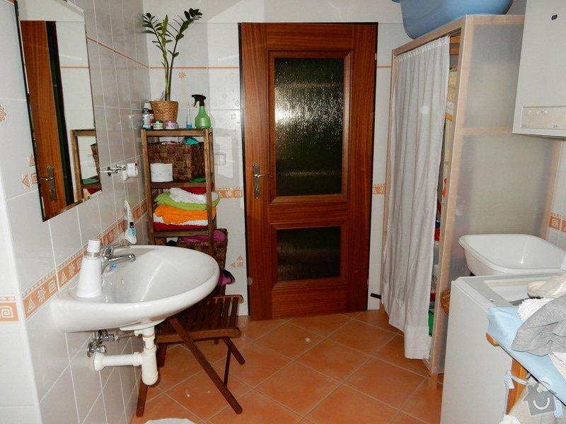 Oprava plesnivych spar v koupelne: koupelna2