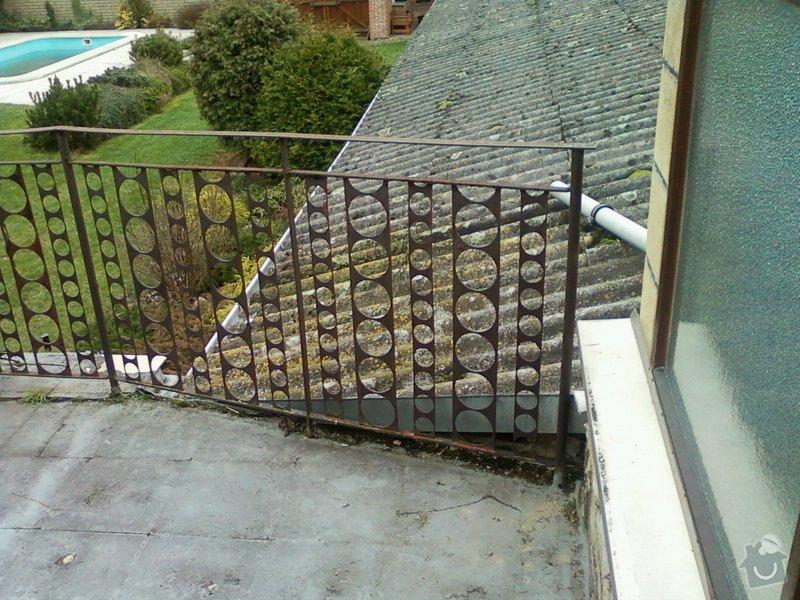 Venkovní balkonové zábradlí.: Fotografie-0098