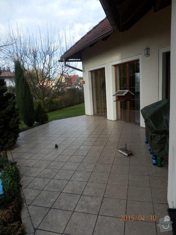Stavbu pergoly na stavajici terase u domu: 170_006