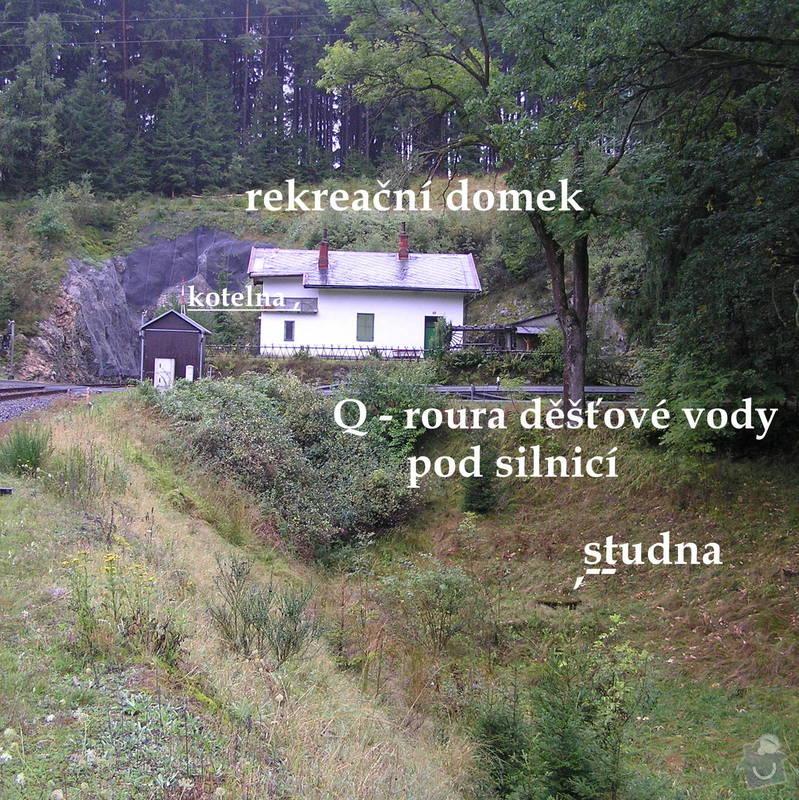Topení, vodoinstalace, rekreační domek : P9120028