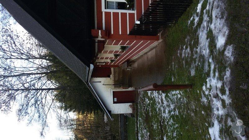 Bourání + výstavba zápraží na chalupě: 20150110_142046