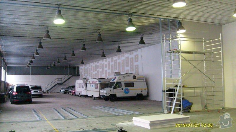 Stavba sádrokartonové příčky: S6301976