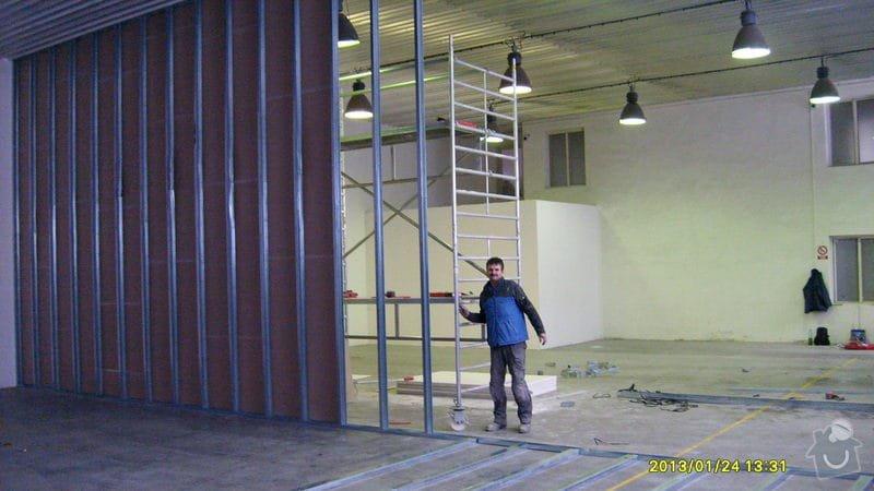 Stavba sádrokartonové příčky: S6301979