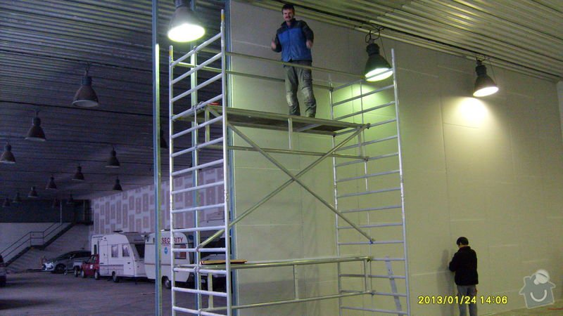 Stavba sádrokartonové příčky: S6301980