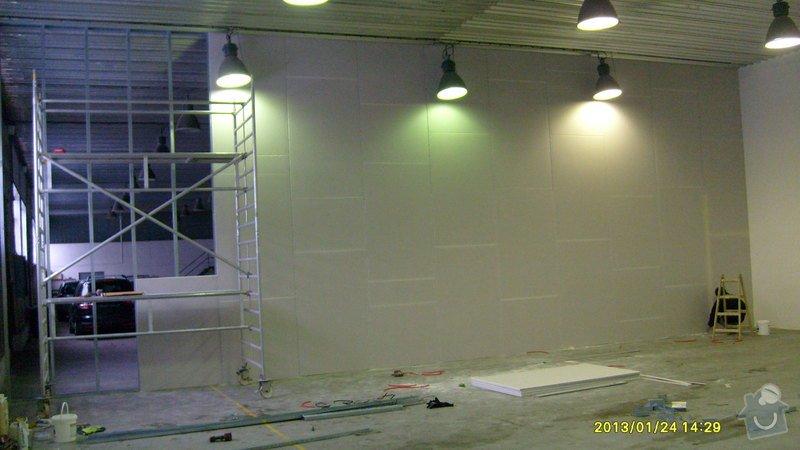 Stavba sádrokartonové příčky: S6301982