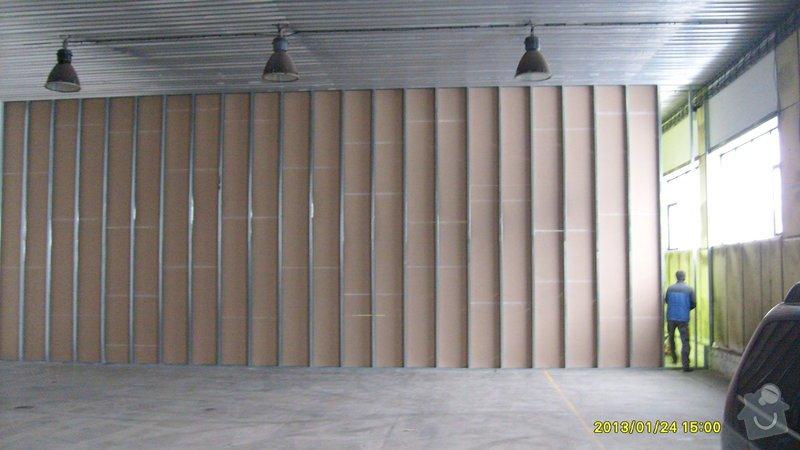 Stavba sádrokartonové příčky: S6301985