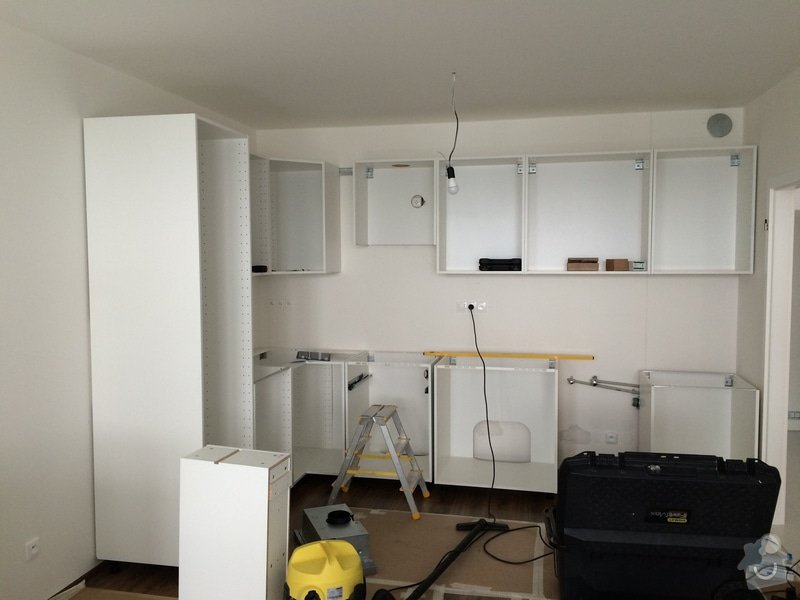 Montáž kuchyňské linky Ikea: 071