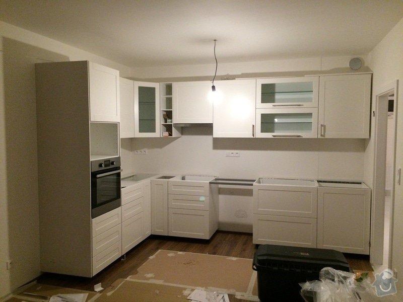 Montáž kuchyňské linky Ikea: 072
