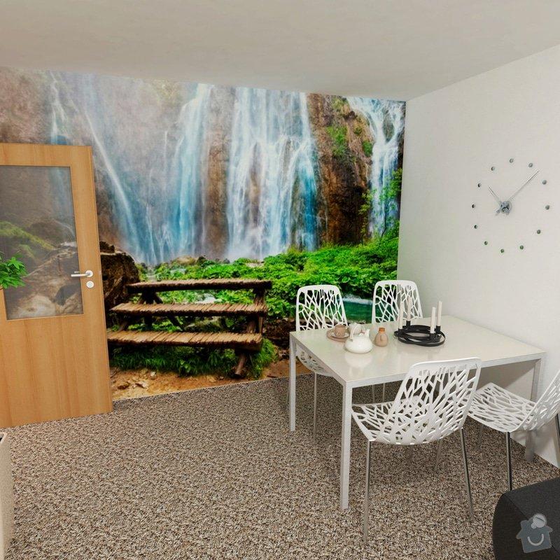 Obývací pokoj a chodba- návrh a vizualizace: fototapeta_1_