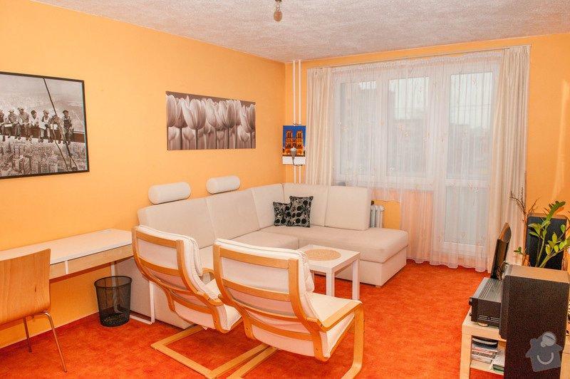 Obývací pokoj a chodba- návrh a vizualizace: DSC_6486
