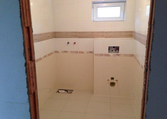 Novostavba - realizace 2x koupelna