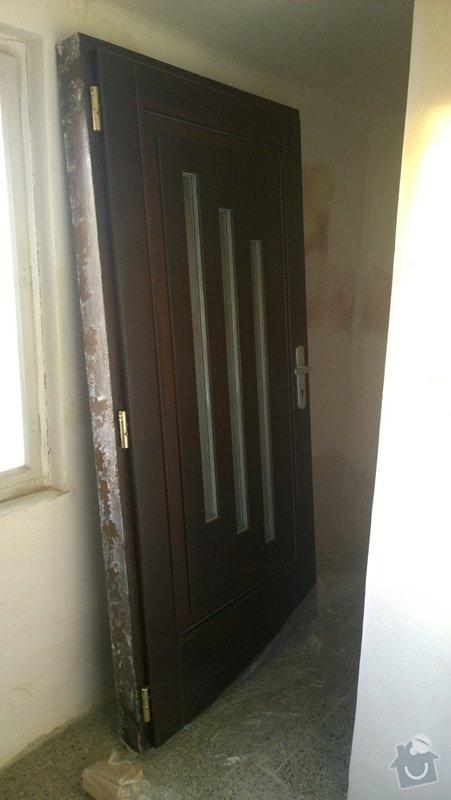 Výměna vchodových dveří do RD: WP_20150113_08_40_08_Pro