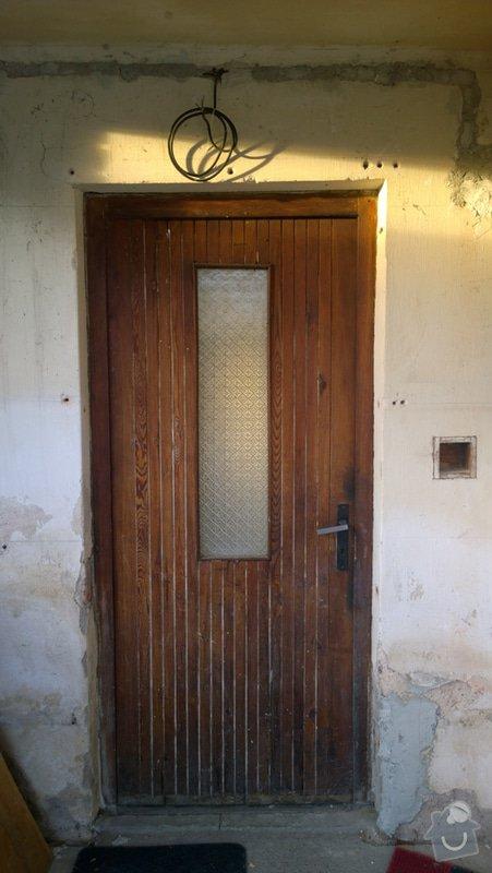 Výměna vchodových dveří do RD: WP_20150113_08_40_44_Pro