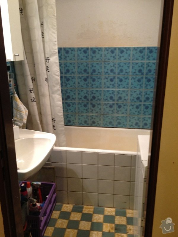 Rekonstrukci bytového jádra - koupelna, záchod, chodba + částečně kuchyň: IMG_4501