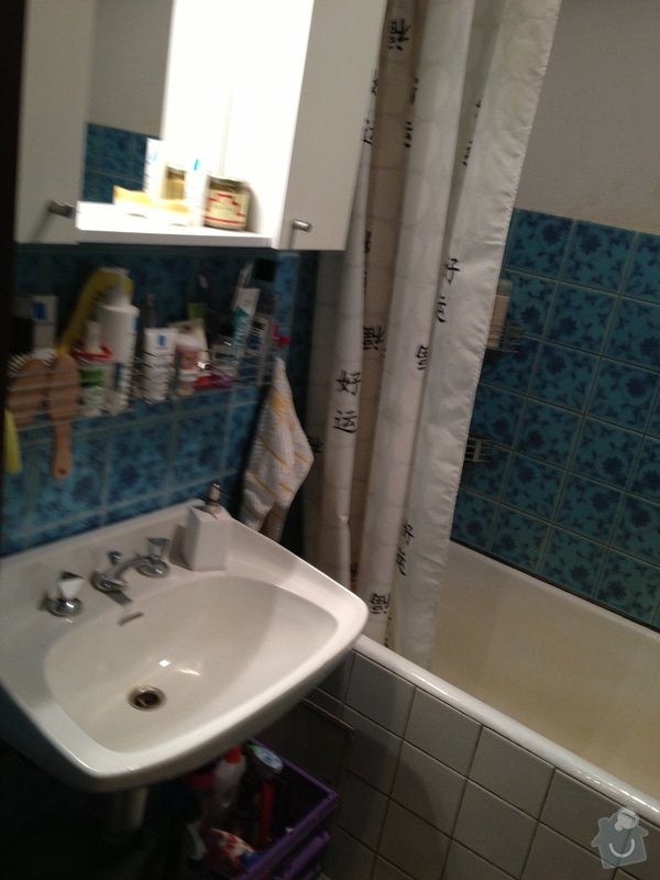 Rekonstrukci bytového jádra - koupelna, záchod, chodba + částečně kuchyň: IMG_4502