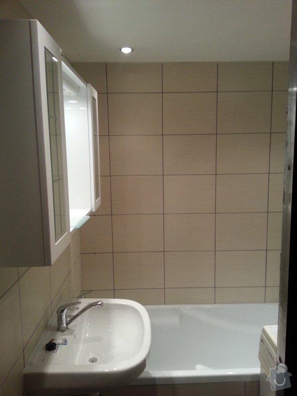 Rekonstrukce koupelny-umakartové : 20150111_201410