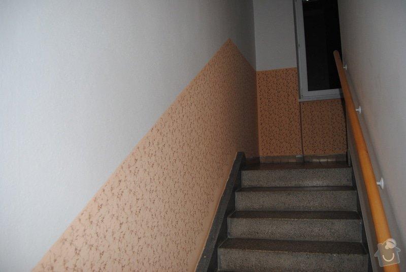 Malířské práce, společné prostory bytového domu: DSC_0434