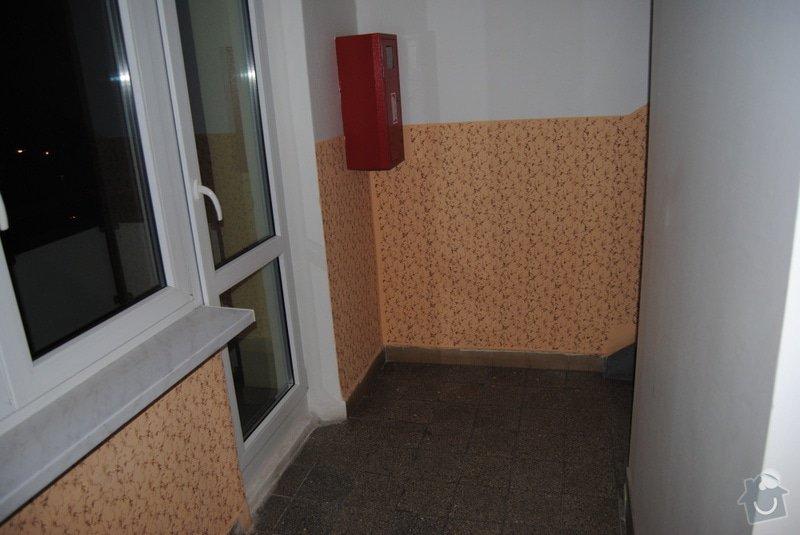 Malířské práce, společné prostory bytového domu: DSC_0436