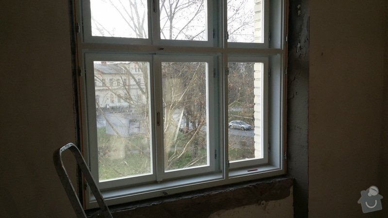 Lakování a tmelení oken a dveří: 20141213_141508