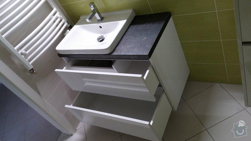 Nábytek do koupelny + moderní konferenční stolek: 20150116_120014