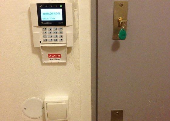 Instalace zabezpečovacího systému Jablotron a Připojení na PCO