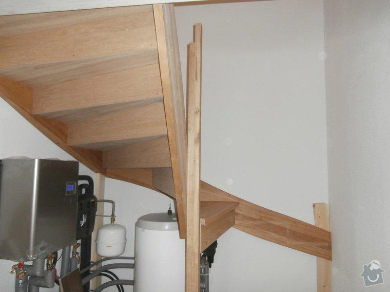 Truhlářské práce - schody dub: PB160434