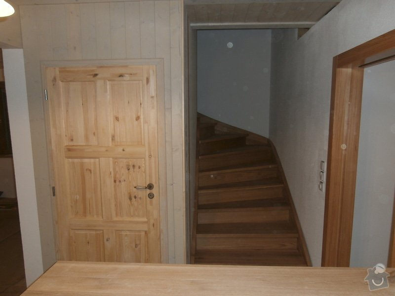 Truhlářské práce - schody dub: PB190446