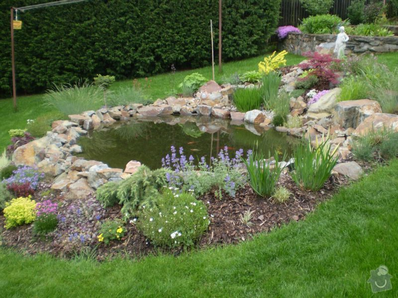 Návrh a realizace zahrady: okrasna-jezirka-11